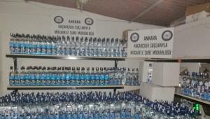 Ankara'da sahte içki operasyonu: Üniversitelilerin gittiği mekanlara satılmış