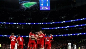 Bayern Münih, Tottenham'ı deplasmanda 7-2 mağlup etti