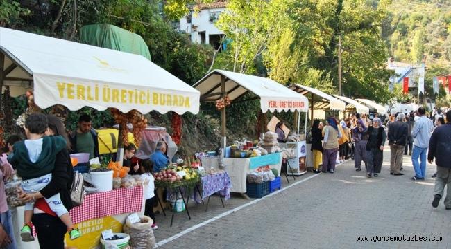 Beydağ'da kestane festivali
