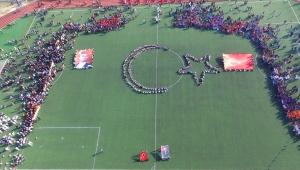 İzmir'in ilçelerinde 29 Ekim Cumhuriyet Bayramı kutlamaları