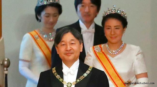 """Japonya'nın 126. İmparatoru Naruhito """"kasımpatı tahtına"""" resmen oturuyor"""