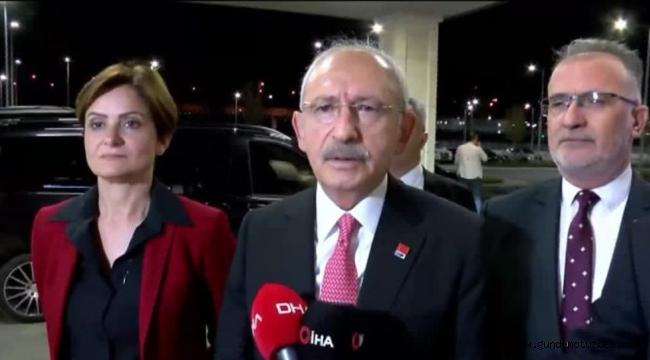 Kılıçdaroğlu: Türkiye yönetiminin süratle Şam yönetimiyle görüşmesi lazım