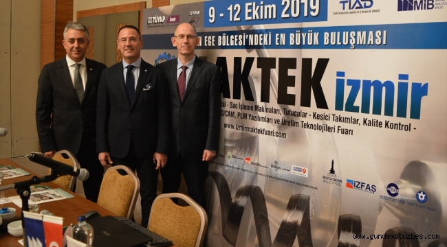 MAKTEK İzmir'de hedef 500 milyon dolar