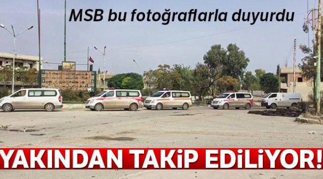 MSB: 'PKK/YPG'li teröristlerin çıkışı yakından takip ediliyor'