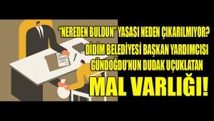 """SİYASİ PARTİLER """"NEREDEN BULDUN"""" YASASINI ÇIKARACAKLAR MI? ALIN SİZE DİDİM'DEN GÜZEL BİR BAŞLANGIÇ ÖRNEĞİ..."""
