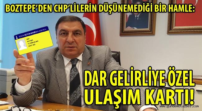AK Parti'li Boztepe'den flaş hamle: Büyükşehir'e yeni 'ulaşım kartı' teklifi!
