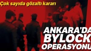 Ankara'da ByLock operasyonu: 16 gözaltı kararı