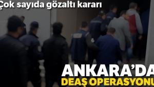Ankara'da DAEŞ operasyonu: 17 gözaltı