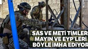 Barış Pınarı Harekatı bölgesinde mayın ve EYP'ler imha ediliyor