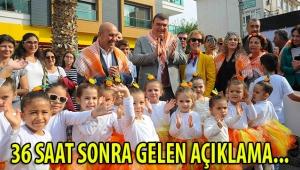 BAŞKAN YETİŞKİN'DEN 36 SAAT SONRA AÇIKLAMA GELDİ!