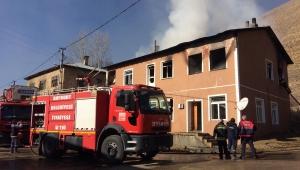 Bayburt'ta bir evde çıkan yangında 3 kişi hayatını kaybetti