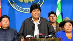 Bolivya'da istifa eden yerli Devlet Başkanı: Evo Morales