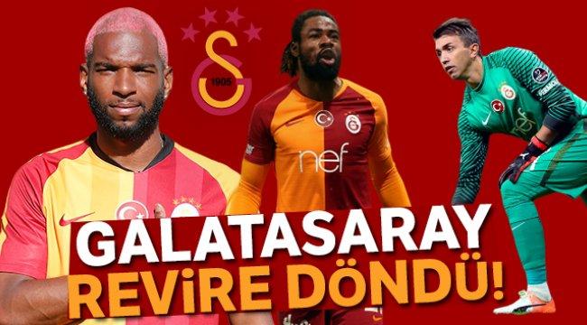 Galatasaray revire döndü!