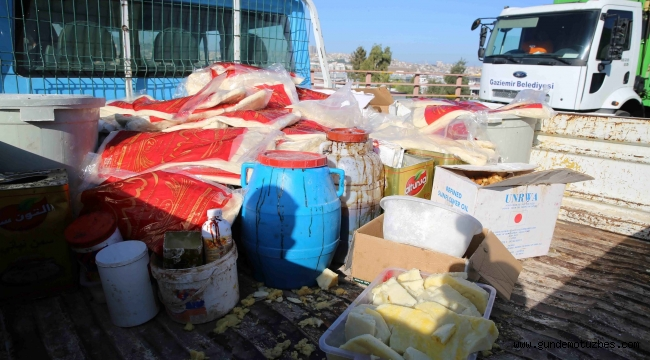 İzmir'de tatlıcı baskını: Adeta mikrop imalathanesi