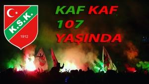 Karşıyaka Spor Kulübü 107 yaşında