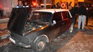 Manisa'da 3 araç kundaklandı