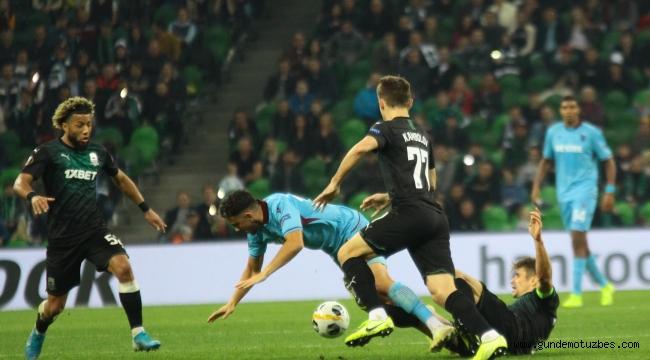 UEFA Avrupa Ligi: Krasnodar: 3 - Trabzonspor: 1