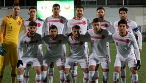 Ümit Milli Takım, Andorra'ya 2-0 mağlup oldu