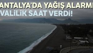 Antalya Valisi'nden yağış açıklaması! 12 Aralık Antalya'da okullar tatil mi?