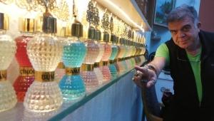 Biblo değil, 2 bin kolonya şişesi