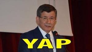 Davutoplu'nun partisinin adı: YAP