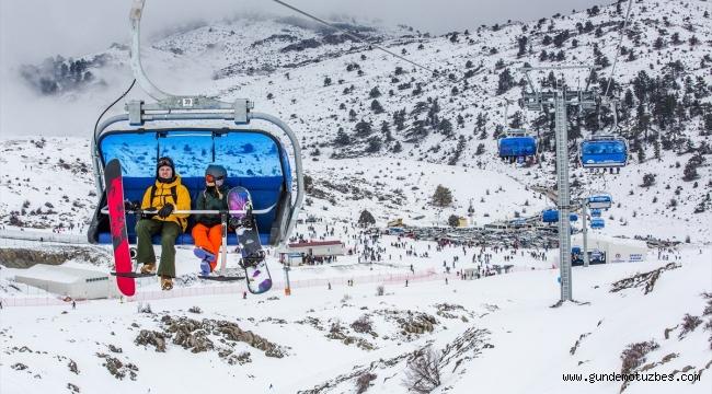 Denizli Kayak Merkezi, sezonu açtı