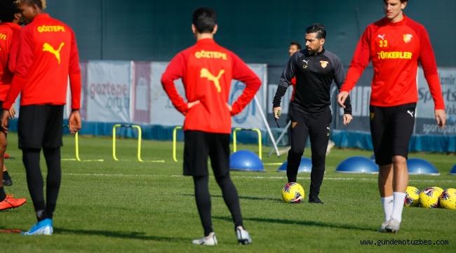 Göztepe, Gençlerbirliği maçının hazırlıklarını sürdürdü