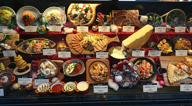 """Japonya'da 90 yıllık gelenek: """"Yemek maketleri"""""""