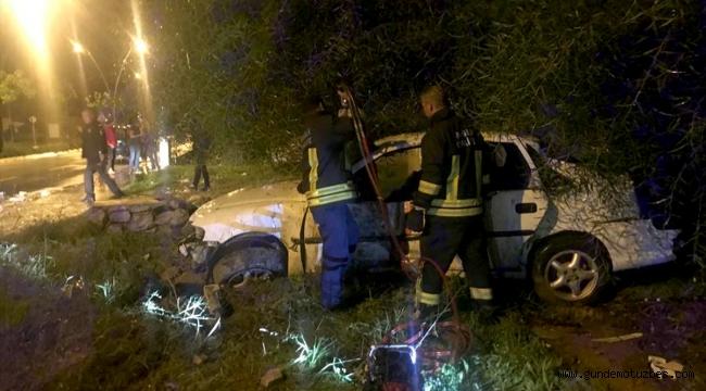 Muğla'da otomobil şarampole devrildi: 2 ölü