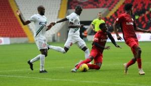 Süper Lig: Gaziantep FK: 1 - Denizlispor: 2