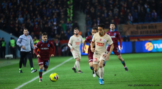 Süper Lig: Trabzonspor: 1 - Galatasaray: 1