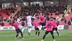 TFF 1. Lig: Balıkesirspor: 1 - Osmanlıspor: 1
