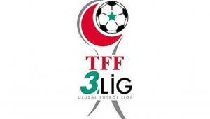 TFF 3. Lig'de ilk yarı bugün oynanan maçlarla sona erdi