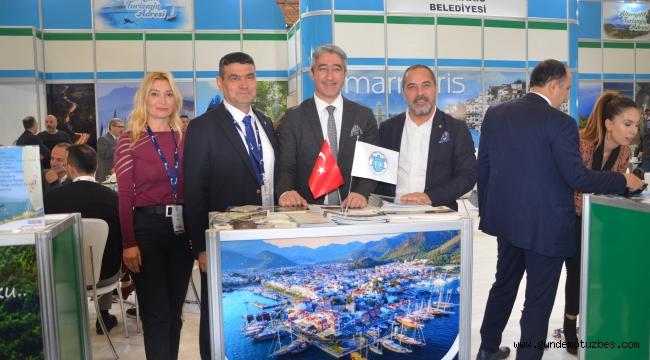 Travel Turkey'de Marmaris'e Marmaris standı yoğun ilgi gördü