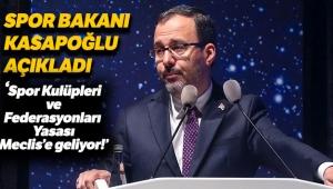 Bakan Kasapoğlu: 'Gazi Meclisimizin emrindeyiz'