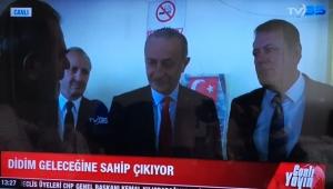 CHP'Lİ BAŞKAN ATABAY TV 35 CANLI YAYININDA SON NOKTAYI KOYDU: KARŞIYIZ!