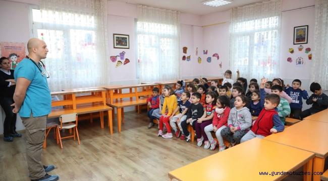 Çocuklara hayvan sevgisi semineri