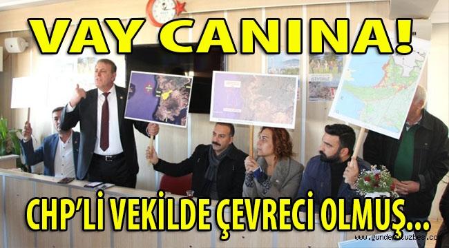DİDİM'Kİ LAST ENVIRONMENTALIST: CHP AYDIN MV HÜSEYİN YILDIZ!