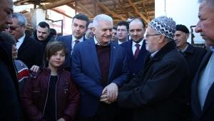 Eski TBMM Başkanı Binali Yıldırım'dan Elazığ depremi açıklaması