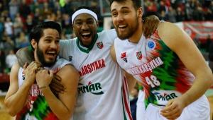 FIBA Erkekler Avrupa Kupası: Pınar Karşıyaka: 112 - Leiden: 76
