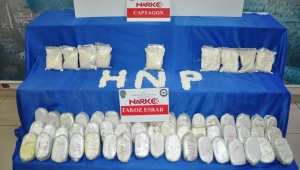 Hatay'da 20 bin adet uyuşturucu hap ve 25 kilo esrar ele geçirildi