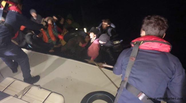 İzmir'de 120 kaçak göçmen yakalandı