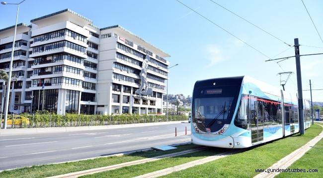 İzmir'de metro ve tramvay 2019'da 140 milyon yolcu taşıdı