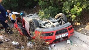 Muğla'da otomobil şarampole devrildi: 1 ölü, 3 yaralı