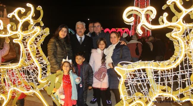 Muğla'da yeni yıl coşkusu