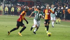Süper Lig: Konyaspor: 0 - Galatasaray: 3