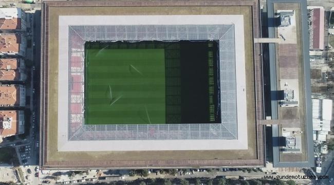 Türkiye'de ilk olacak stadyum gün sayıyor