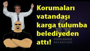 Başkan İnce'nin evrak imzası soran vatandaşı makamından 3 korumasıyla karga tulumba attırdığı iddia edildi!