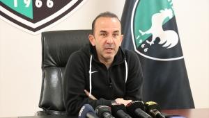 Denizlispor Teknik Direktörü Özdilek: