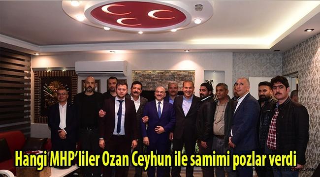 Hangi MHP'liler Ozan Ceyhun ile samimi pozlar verdi